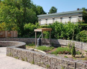 vier grondsoorten voorbeeldtuinen groene huis